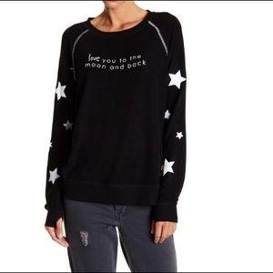 Peace Love World I Love You To The Moon Sweatshirt